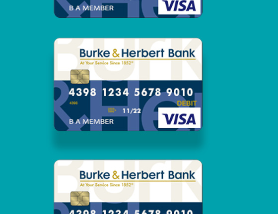 Burke & Herbert Bank Debit Card