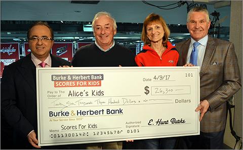 Burke & Herbert Bank Northern VA Donation to Benefit Children